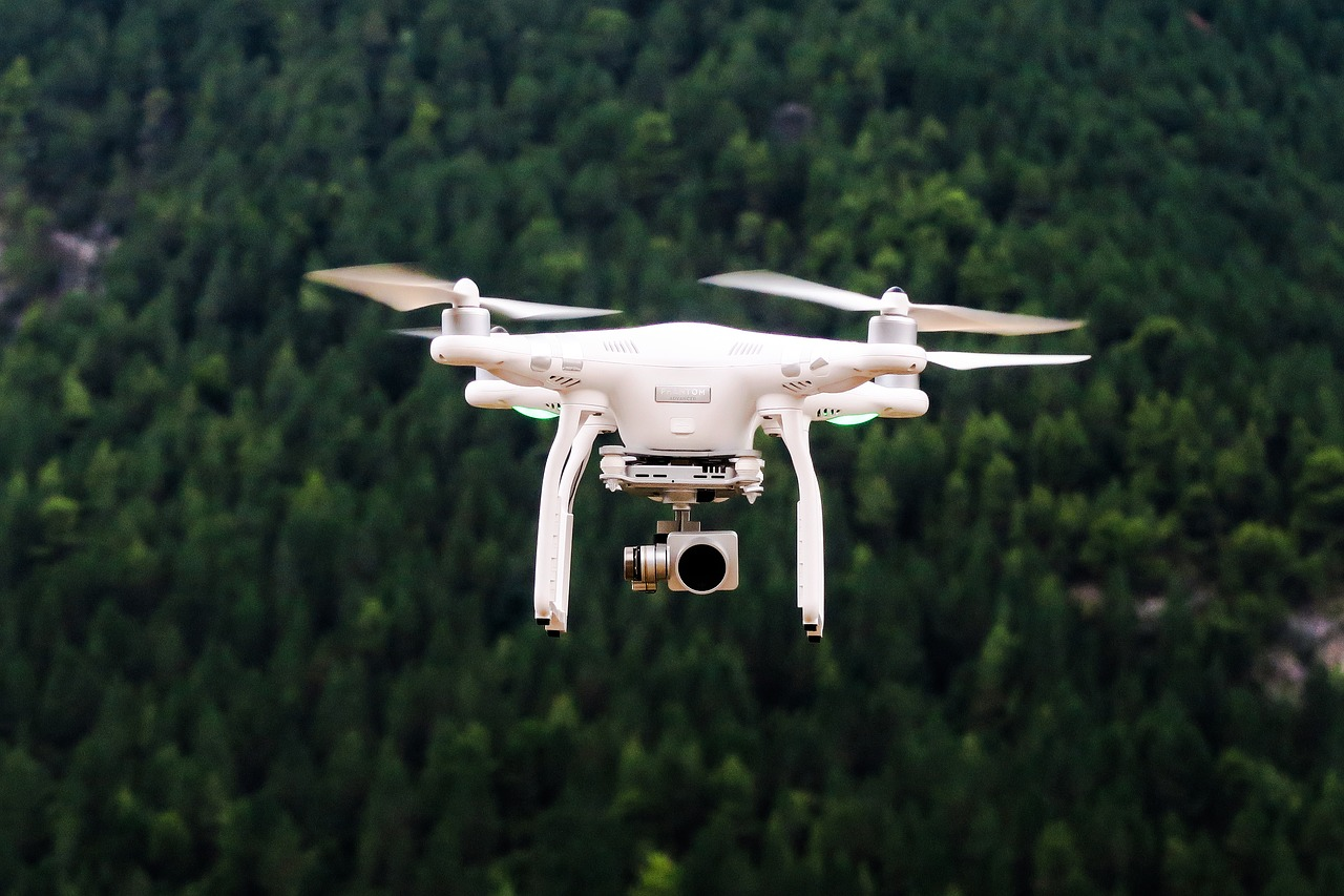 aerial view, camera, drone