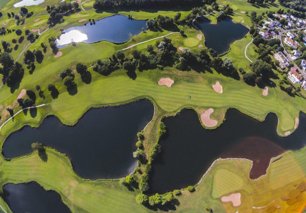 צילום אווירי מגרש גולף